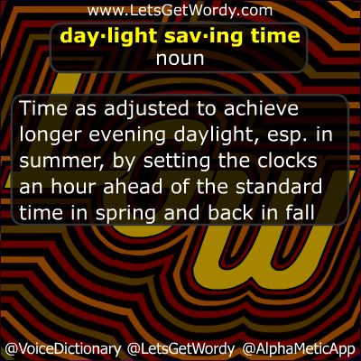 Did 'ya know? GFX 11/06/2016: Daylight Saving Time