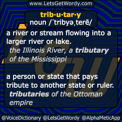 Tributary 11/13/2013 GFX Definition