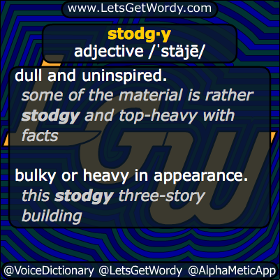 Stodgy 12/30/2013 GFX Definition