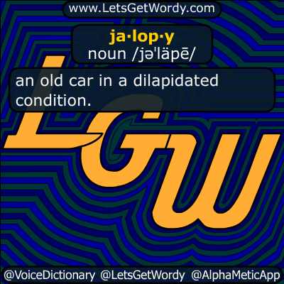 jalopy 01/03/2019 GFX Definition