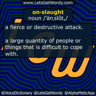 onslaught 02/06/2019 GFX Definition
