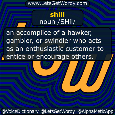 shill 01/12/2019 GFX Definition