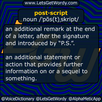 postscript 01/13/2019 GFX Definition