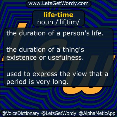 lifetime 01/18/2019 GFX Definition