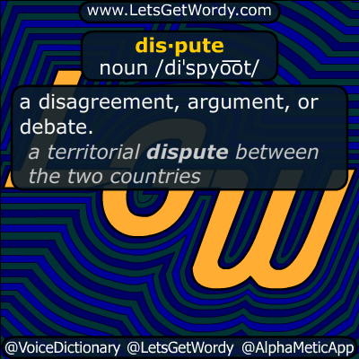 dispute 01/22/2019 GFX Definition