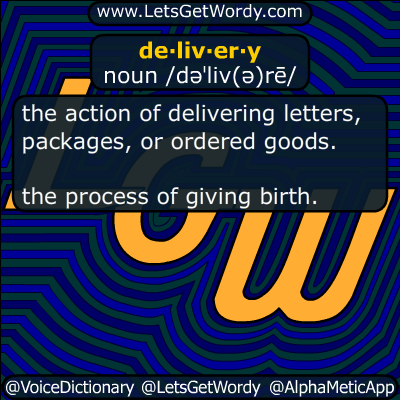 delivery 01/23/2019 GFX Definition