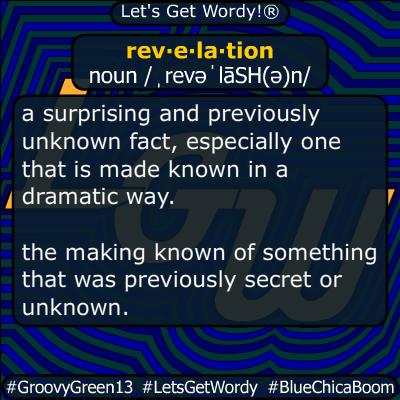 revelation 01/27/2020 GFX Definition