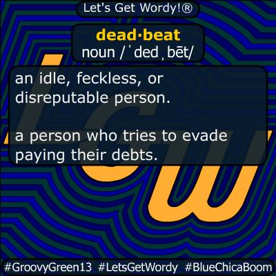 deadbeat 01/28/2020 GFX Definition
