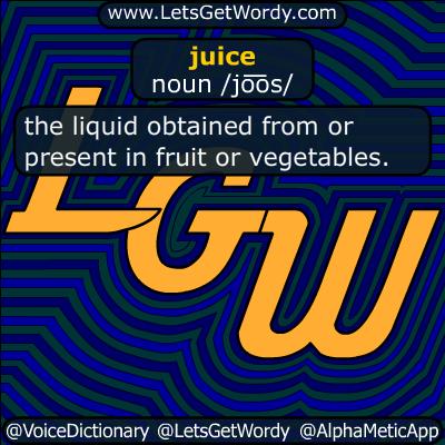 juice 03/09/2019 GFX Definition