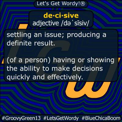 decisive 03/09/2020 GFX Definition