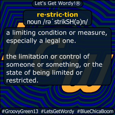 restriction 03/11/2020 GFX Definition