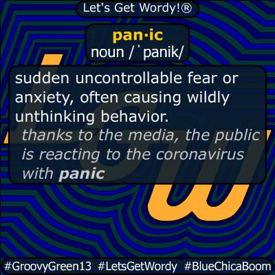 panic 03/13/2020 GFX Definition