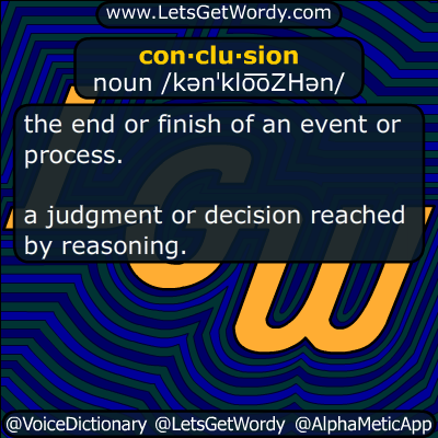 conclusion 03/24/2019 GFX Definition