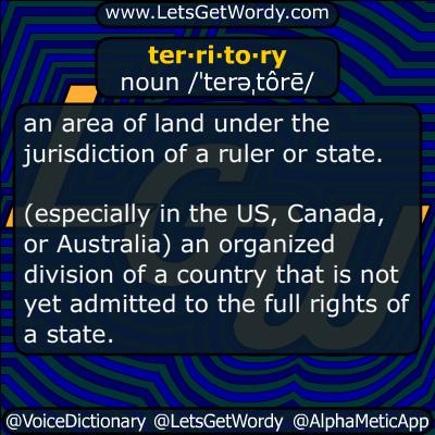 territory 03/26/2019 GFX Definition