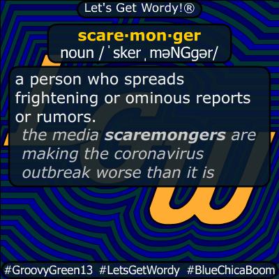 scaremonger 03/25/2020 GFX Definition