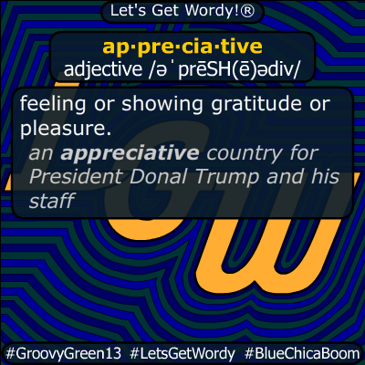 appreciative 03/28/2020 GFX Definition
