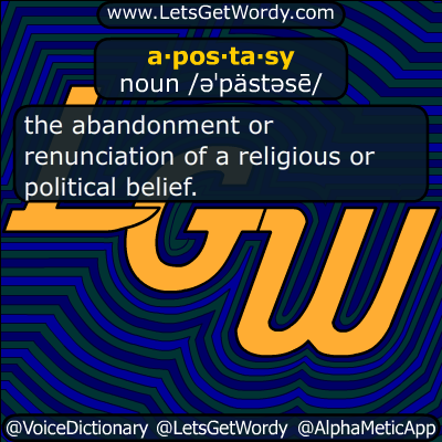 apostasy 04/05/2019 GFX Definition