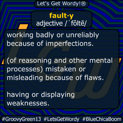 faulty 04/13/2020 GFX Definition