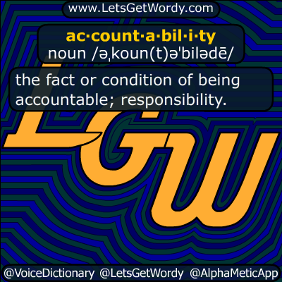 accountability 04/14/2019 GFX Definition