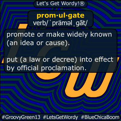 promulgate 04/19/2020 GFX Definition