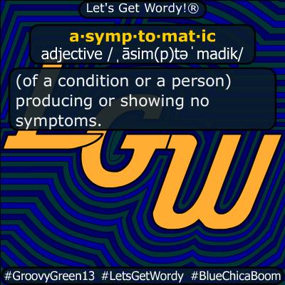 asymptomatic 04/21/2020 GFX Definition