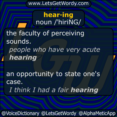 hearing 05/03/2019 GFX Definition