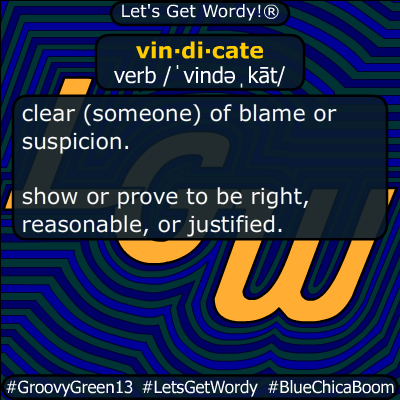 vindicate 05/10/2020 GFX Definition