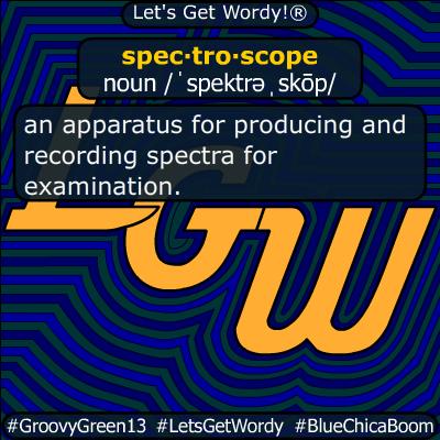 spectroscope 05/18/220 GFX Definition