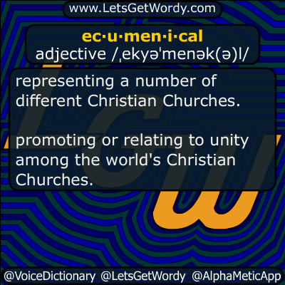 Ecumenical 05/20/2019 GFX Definition