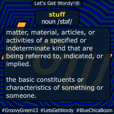 stuff 05/22/2020 GFX Definition