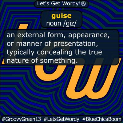 guise 05/24/2020 GFX Definition