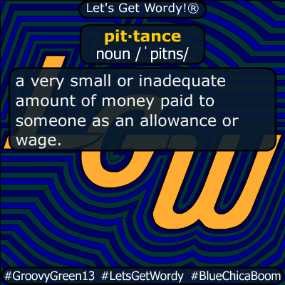 pittance 05/27/2020 GFX Definition