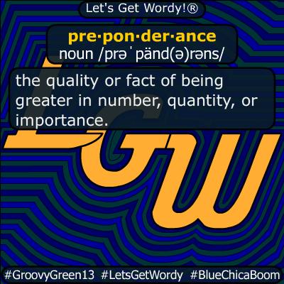 preponderance 06/05/2020 GFX Definition