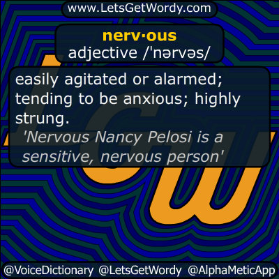 nervous 06/08/2019 GFX Definition