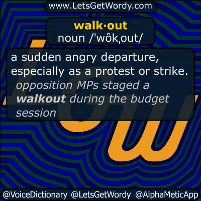 walkout 06/26/2019 GFX Definition