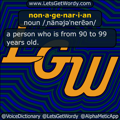 nonagenarian 06/03/2019 GFX Definition