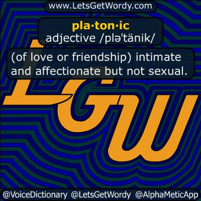 Platonic 07/18/2019 GFX Definition