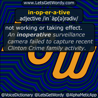 inoperative 08/12/2019 GFX Definition