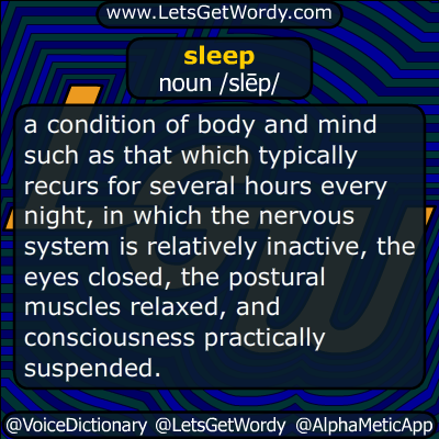 sleep 08/17/2019 GFX Definition