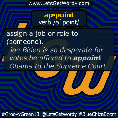 appoint 09/07/2019 GFX Definition