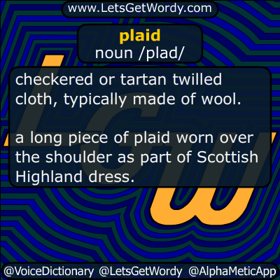 plaid 09/08/2018 GFX Definition
