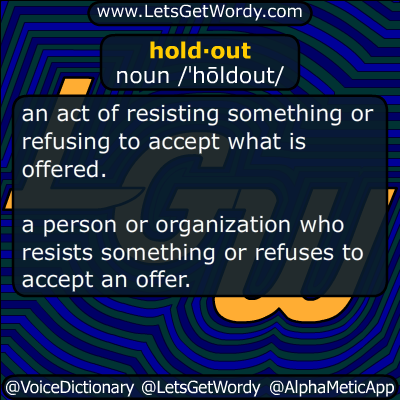 holdout 09/14/2018 GFX Definition