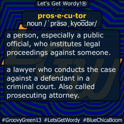 prosecutor 09/24/2019 GFX Definition