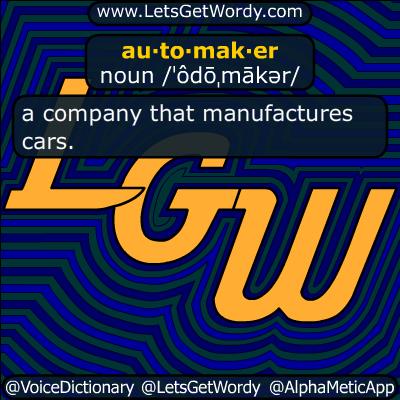 automaker 10/02/2018 GFX Definition