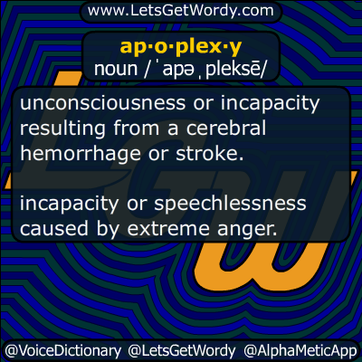apoplexy 10/08/2018 GFX Definition