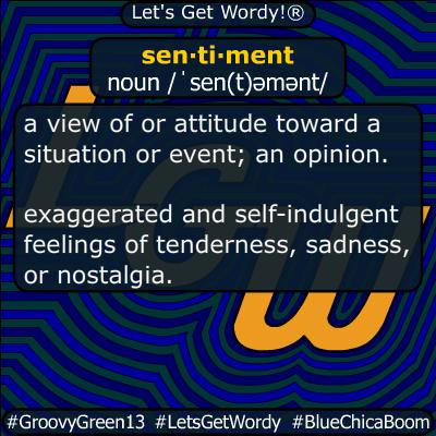 sentiment 10/30/2019 GFX Definition