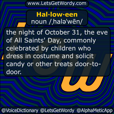Halloween 10/31/2017 GFX Definition