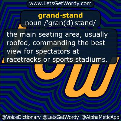 grandstand 11/14/2018 GFX Definition