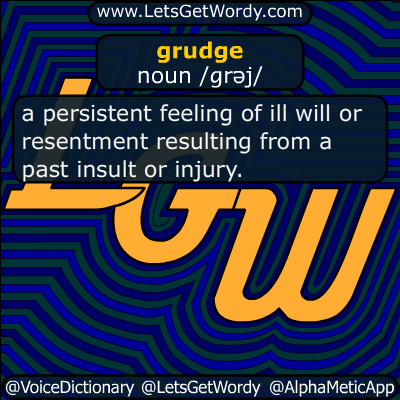 grudge 11/19/2018 GFX Definition