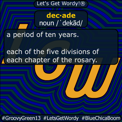 decade 11/22/2019 GFX Definition